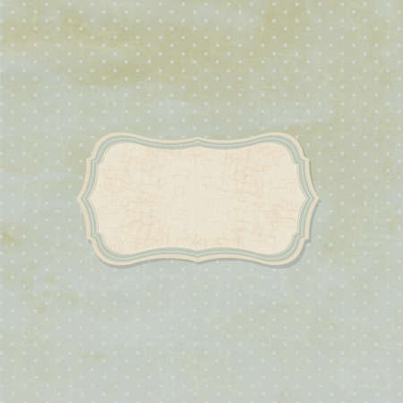 worn: Retro Vintage Badge, Vintage Background, Illustration Illustration