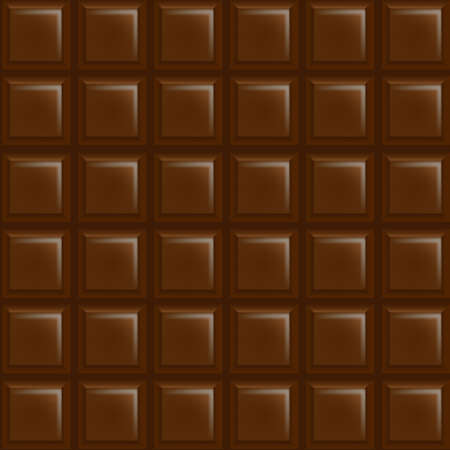 cacao: Chocolate Background With Gradient Mesh, Illustration