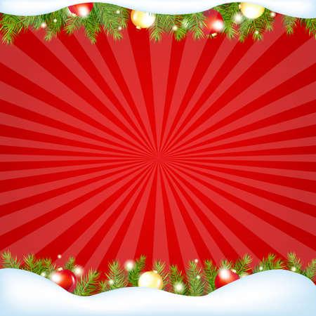 グラデーション メッシュで赤販売冬ポスター ベクトル イラスト