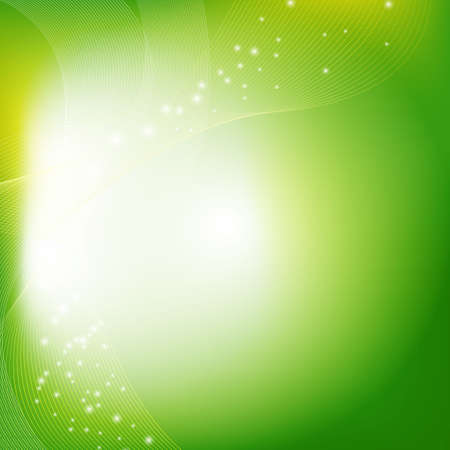 Green Eco Background With Gradient Mesh, Vector Illustration Stock Vector - 17896884