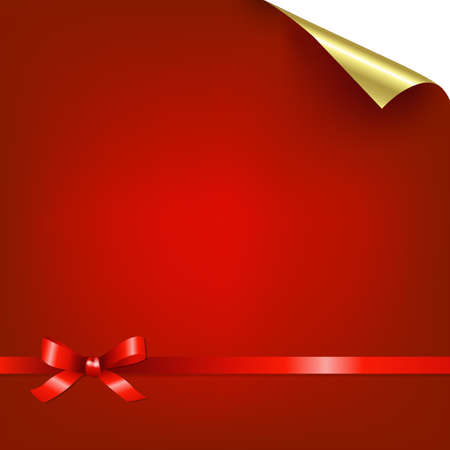 Red Bokeh Background With Bow Gradient Mesh, Vector Illustration Stock Vector - 17896837