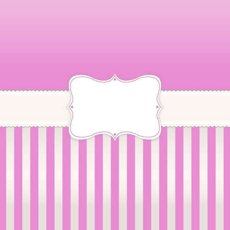 Vintage Cakes Poster, Template Card, Vector Illustration