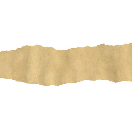 fragmentary: Old Fragmentary Paper Border, Vector Illustration