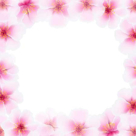 ébredés: Cseresznye virág váz a Blur, gradiens Mesh, illusztráció