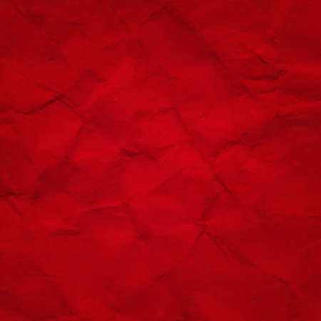 crushed: Red Crushed  Paper, With Gradient Mesh Illustration