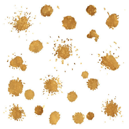 stain: Coffee Stain, Vector Illustration
