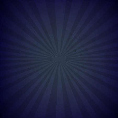 グラデーション メッシュ図と暗い青色サンバースト段ボール紙  イラスト・ベクター素材