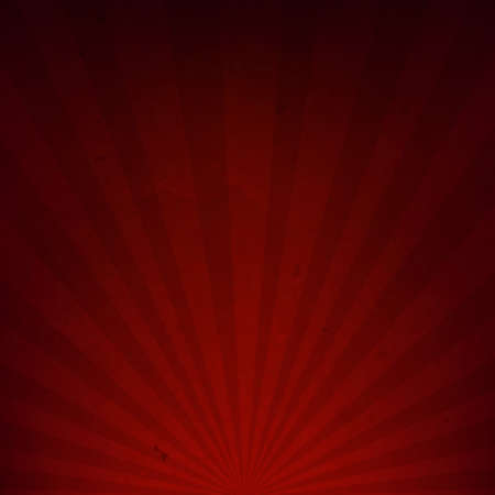 red card: Dark Red Sunburst Paper With Gradient Mesh, Vector Illustration