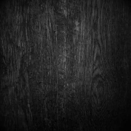 gradient mesh: Black Wood With Gradient Mesh Illustration