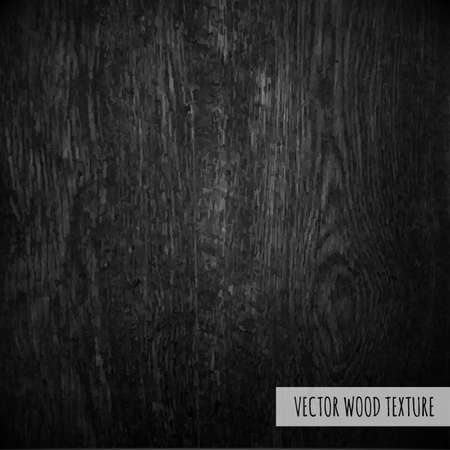 wood structure: Black Wood With Gradient Mesh Illustration