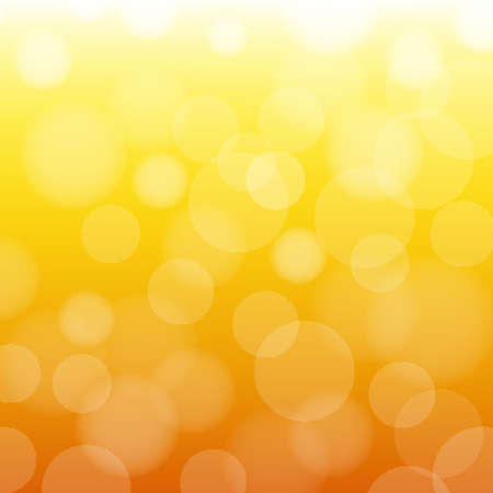 Orange And Yellow Background With Gradient Mesh, Vector Illustration