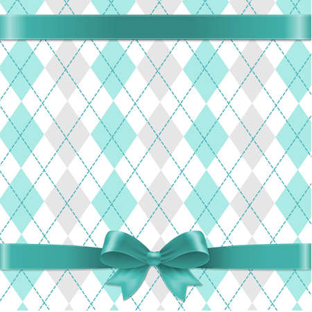 Argyle Background Gradient Mesh, Vector Illustration