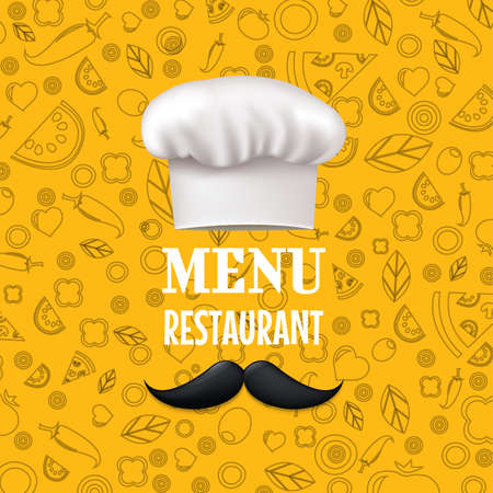 Menu restaurant illustration