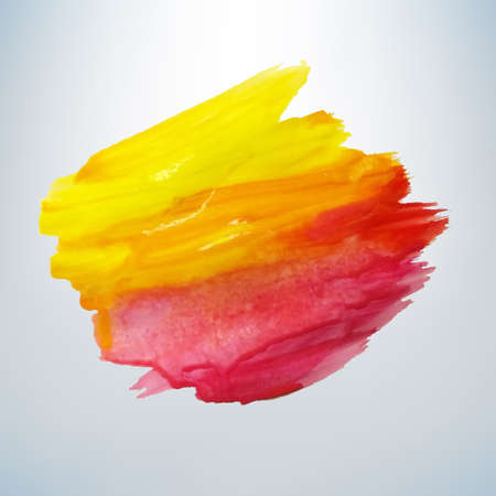 Colored Blot Vector Illustration