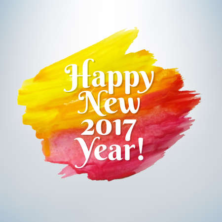 Happy New Year, Vector Illustration Illustration