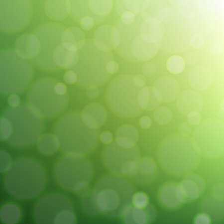 Green Summer Background With Gradient Mesh, Vector Illustration 向量圖像