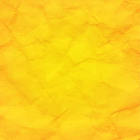 Yellow Retro Background With Gradient Mesh, Vector Illustration