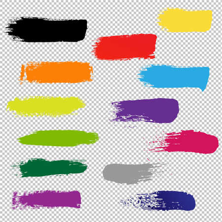 Blots For Design Transparent background, Vector Illustration Illustration