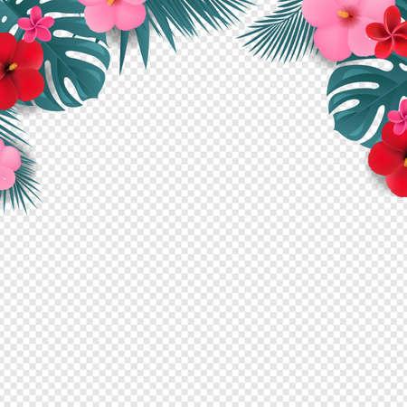 Summer Sale Special Offer Poster Transparent Background With Gradient Mesh, Vector Illustration Ilustração