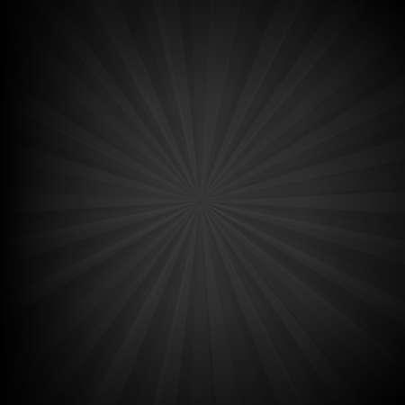 Black Texture With Sunburst With Gradient Mesh, Vector Illustration Vector Illustration