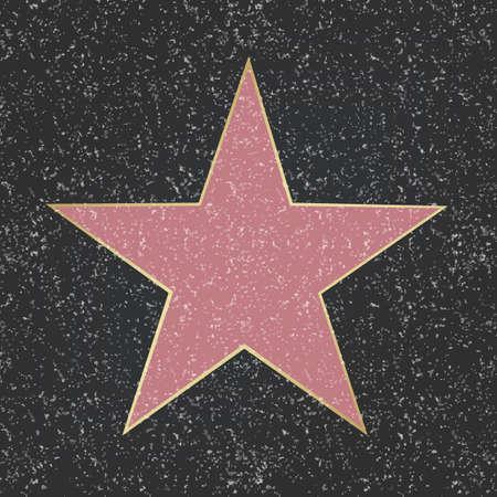 Star Gradient Mesh, Vector Illustration