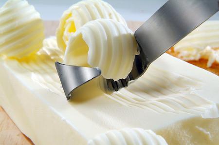 버터 컬의 근접