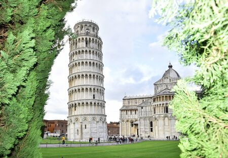 View of the tower of Pisa