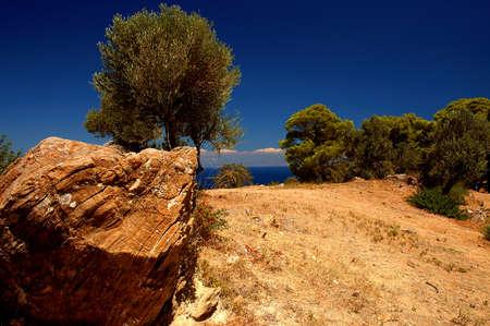poros: Poros Island , Greece    Stock Photo