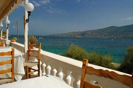 poros: Poros Island , Greece . View from tavern