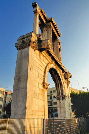 hadrian: The Arch of Hadrian is a monumental gateway