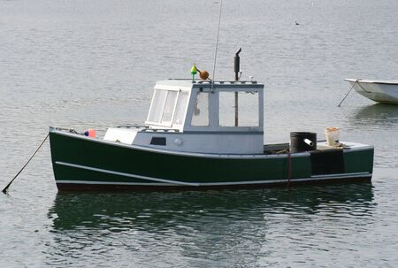 commercial fisheries: Lobster Boat Stock Photo