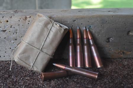 Rifle Gun Ammo Bullets Size 7.62x54 Caliber