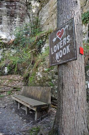 Lovers Nook Hideaway in the Woods