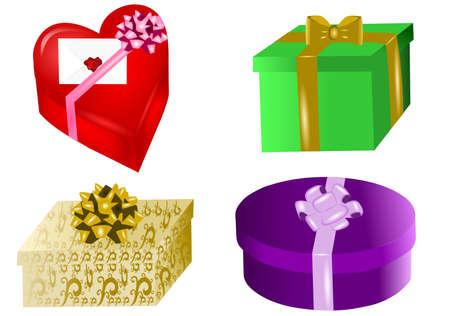presents set Illustration