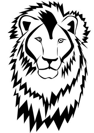 lion silhouette: Lion silhouette