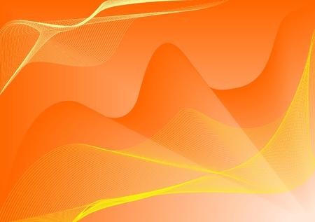 Zusammenfassung Hintergrund mit gelben Spiralen