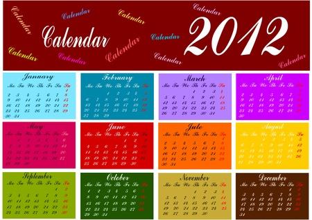 Calendar Stock Vector - 11671435