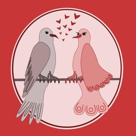 turtles love: Turtle doves in love