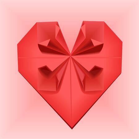 dexterity: Origami heart