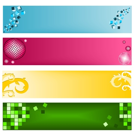 Banners for web Stock Vector - 12490592
