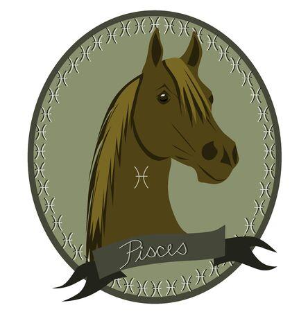 sagitario: Caballo del zodiaco - Piscis