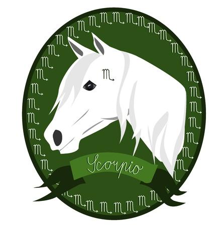 Horse - Scorpio Stock Vector - 12788431
