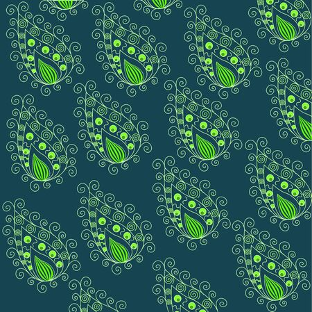 Paisley pattern Stock Vector - 13544525