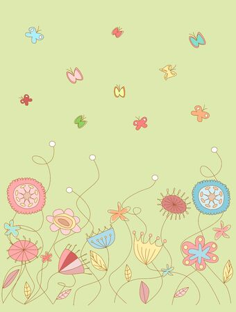 Floral pattern Stock Vector - 14271249