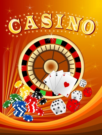 spinning reel: Casino 3 Illustration