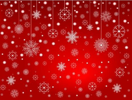 Snowflakes 2 Ilustrace