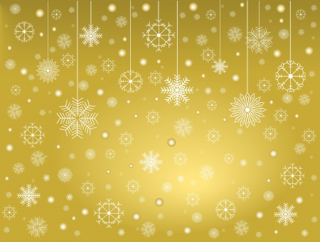 Snowflakes 4 Ilustrace
