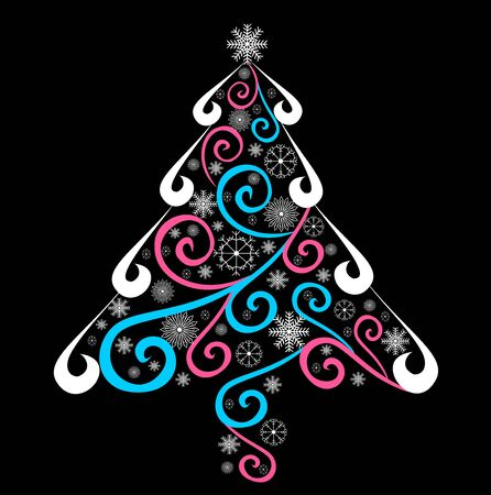 Christmas tree Stock Vector - 15802380