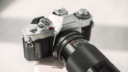 Old vintage 35mm film camera