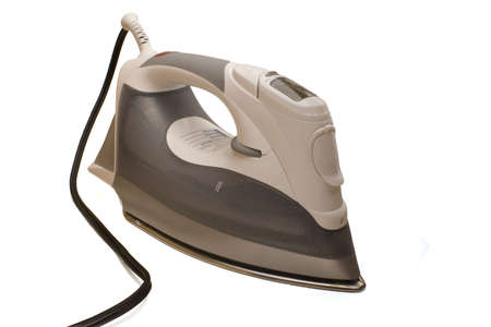 Isolated image of a clothes iron Stock Photo